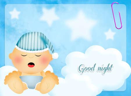 good night: Good night