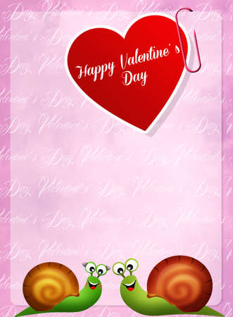 Valentines postcard photo
