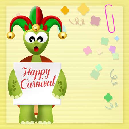 minstrel: Happy Carnival Stock Photo