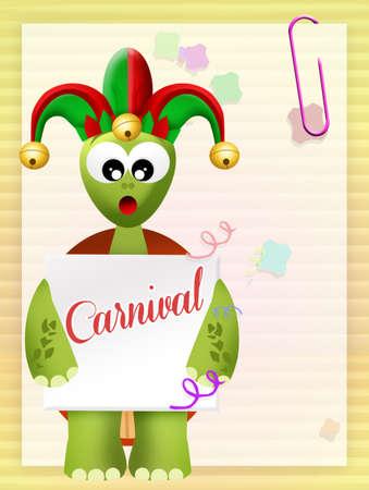 minstrel: Carnival Stock Photo
