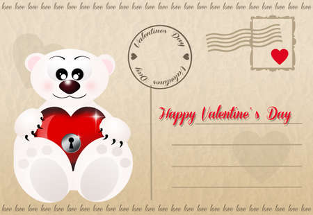 Funny Valentines postcard photo