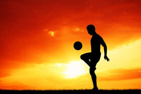 jugando futbol: jugar al f�tbol