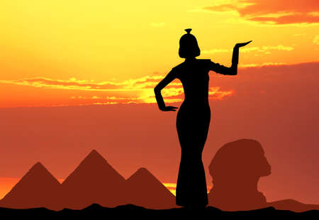 Cleopatra in Egypt photo