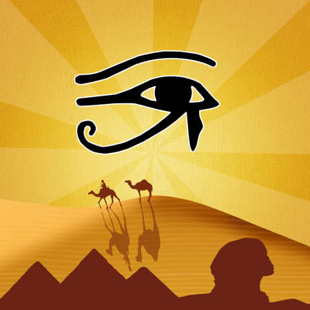 horus: illustration of Horus eye