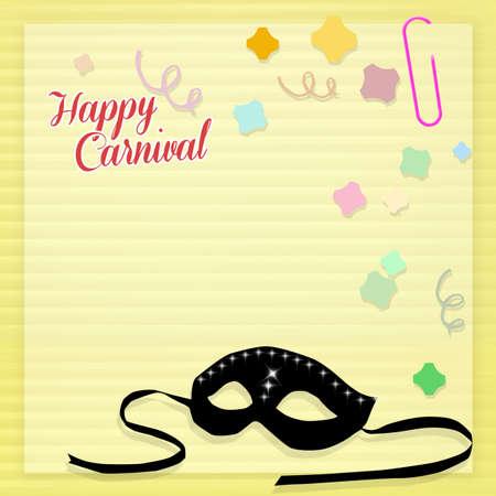 minstrel: Carnival card
