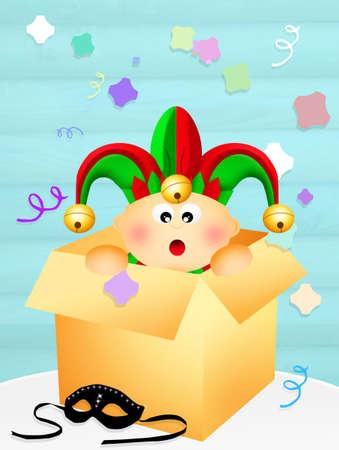minstrel: Baby jester in the box