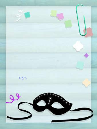 minstrel: Carnival mask