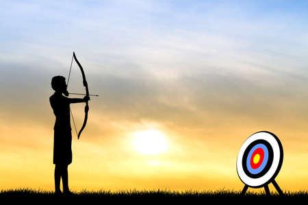 afterglow: archery tournament