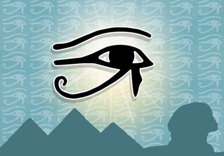 Eye of Horus photo