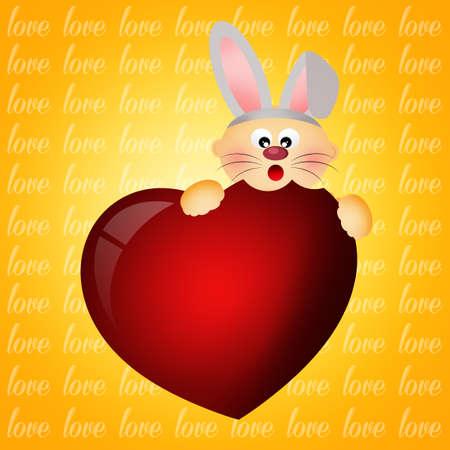 eats: bunny eats the heart