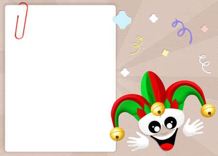 minstrel: Joker Stock Photo