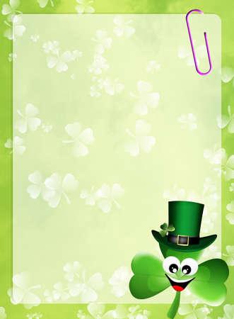 St  Patrick postcard photo