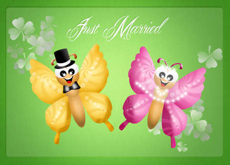 Just Married Stock Photo - 25319863