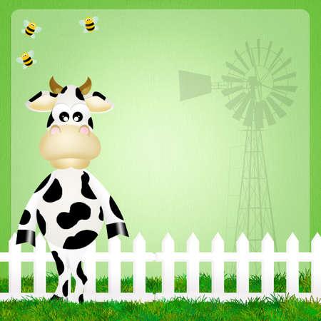 illustration of cow illustration