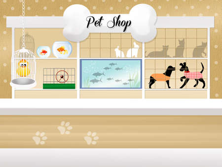 pet shop photo