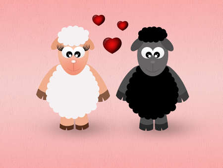 sheeps: sheeps in love