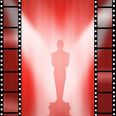 statuette: Oscar Movie gold