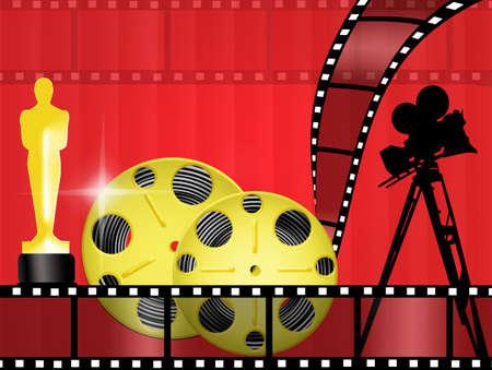 Oscar awards Banque d'images