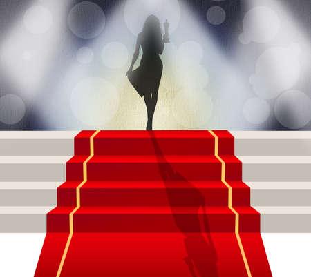 red carpet celebrity 版權商用圖片