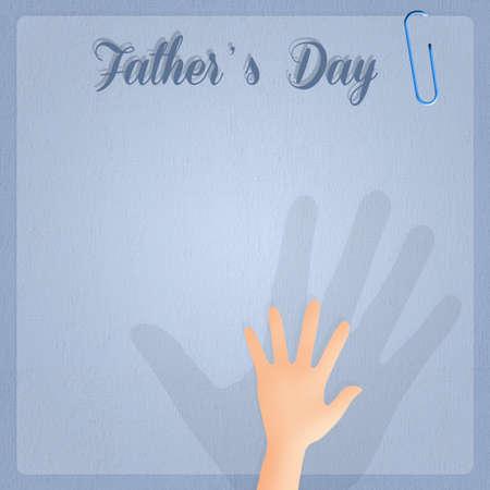 happy Fathers Day: D�a de padres feliz Foto de archivo