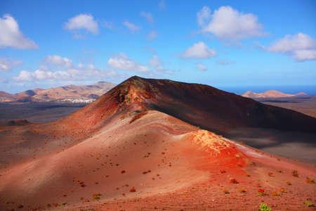 lanzarote: volcanic landscape, Timanfaya, Lanzarote