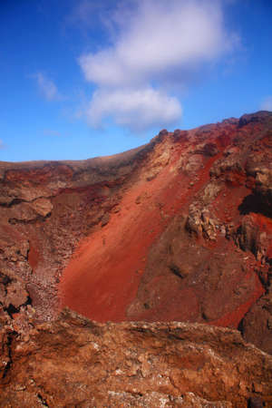 volcanic landscape, Timanfaya, Lanzarote Stock Photo - 26223644