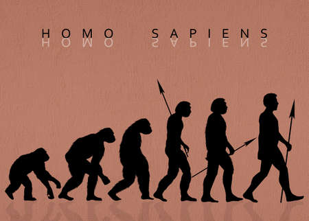 sapiens: Homo sapiens Stock Photo