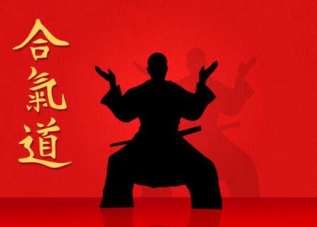kwon: Aikido Stock Photo