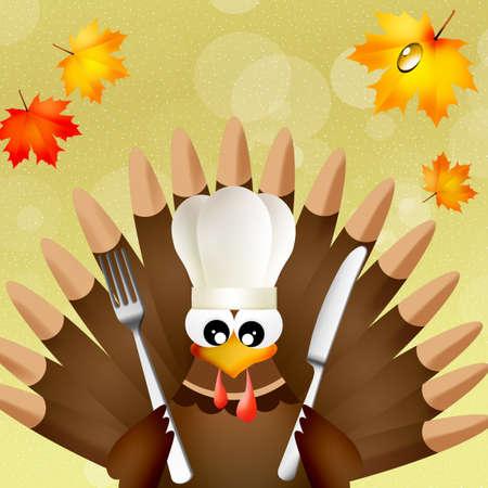 Thanksgiving menu photo