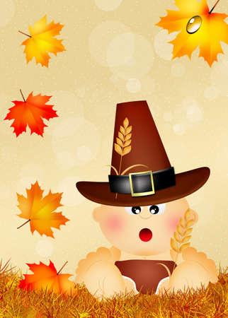 illustration of Thanksgiving illustration