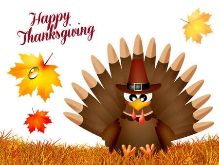 Turkije voor Thanksgiving Day Stockfoto