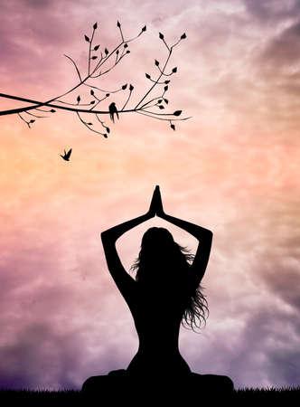Meditation Stock Photo - 27089357