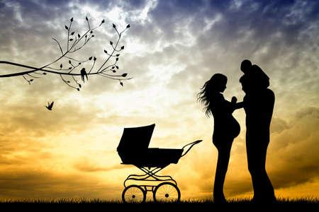 paternity: Happy family