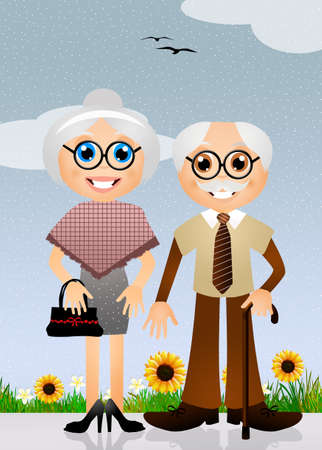 paternity: grandparents cartoon