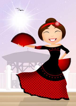 Flamenco photo
