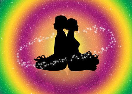 cosmic energy: Cosmic energy Stock Photo