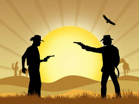 duel: Cowboy duel