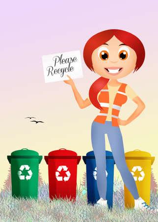please recycle photo