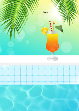 pool party: cocktail