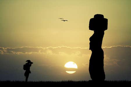 moai: Moai, Isla de Pascua