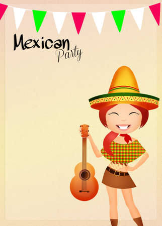 Mexican party photo