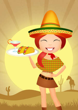 Mexican woman photo