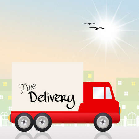 Fast delivery photo