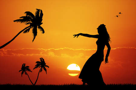 Hawaiian dance photo