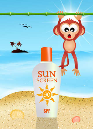 Solar lotion photo