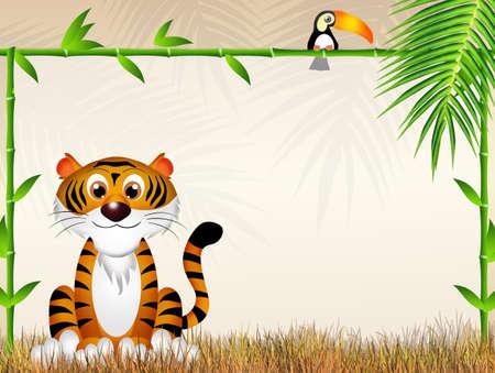 tiger cartoon photo