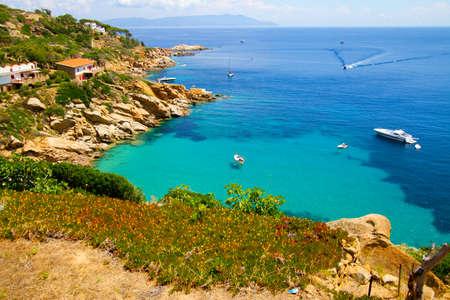 Isola del Giglio, Toscane Stockfoto