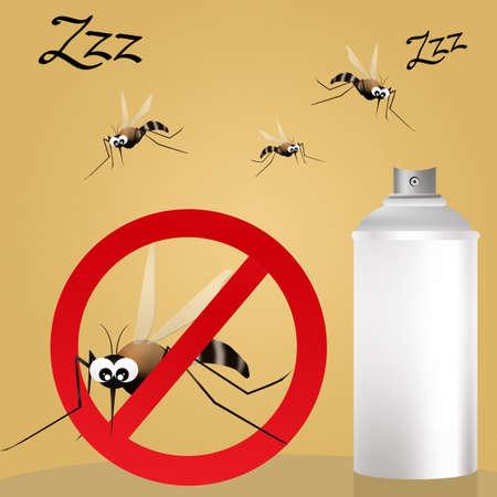 anopheles: Mosquito spray