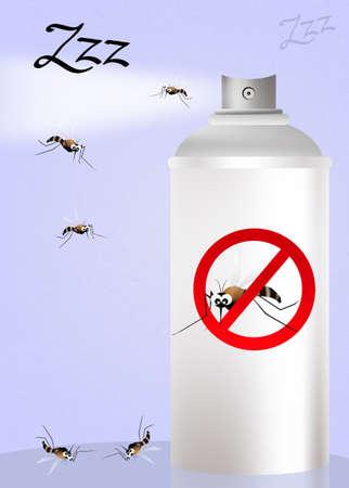 culicidae: Mosquito spray