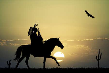 sioux: Crazy horse Stock Photo